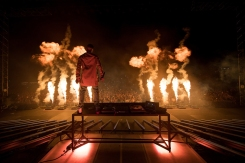 DJ Snake performs at the Coachella Music Festival in Indio, California on April 15, 2017. (Photo: Julian Bajsel)