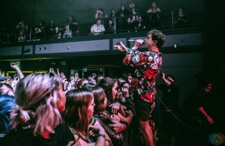 Don Broco performs at St. Andrew's Hall in Detroit on April 8, 2017. (Photo: Ciara Glagola/Aesthetic Magazine)