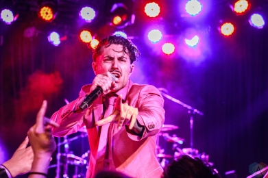 Dreamcar performs at the Roxy Theatre in Hollywood, California on April 12, 2017. (Photo: James Alvarez/Aesthetic Magazine)