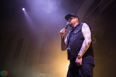 Good Charlotte performs at the Danforth Music Hall in Toronto on April 19, 2017. (Photo: Morgan Hotston/Aesthetic Magazine)