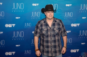 Gord Bamford attends the 2017 JUNO Awards at the Canadian Tire Centre in Ottawa on April 2, 2017. (Photo: Brendan Albert/Aesthetic Magazine)