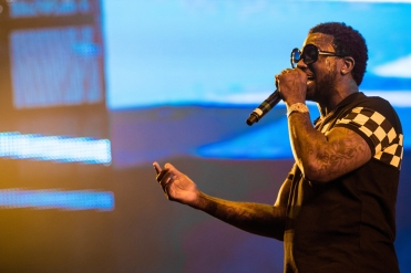 Gucci Mane performs at the Coachella Music Festival in Indio, California on April 15, 2017. (Photo: Greg Noire)