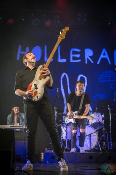 Hollerado performs at the INDIES at the Phoenix Concert Theatre in Toronto on April 19, 2017. (Photo: Brendan Albert/Aesthetic Magazine)