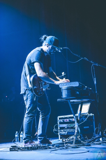 IAmForest performs at the Vogue Theatre in Vancouver on April 17, 2017. (Photo: Timothy Nguyen/Aesthetic Magazine)