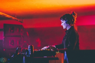 J. Phlip performs at Snowbombing Canada at Sun Peaks Resort in Sun Peaks, British Columbia on April 8, 2017. (Photo: Timothy Nguyen/Aesthetic Magazine)