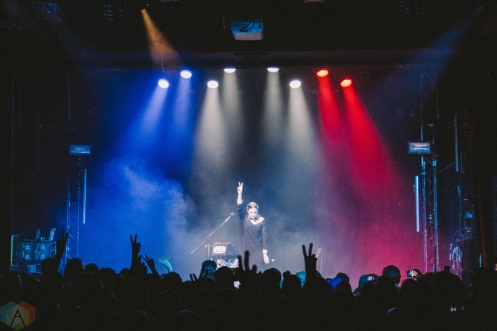 Jain performs at the Mod Club in Toronto on April 3, 2017. (Photo: Rick Clifford/Aesthetic Magazine)