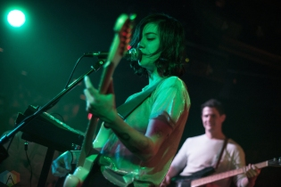 Japanese Breakfast performs at the Silver Dollar in Toronto on April 22, 2017. (Photo: Morgan Hotston/Aesthetic Magazine)