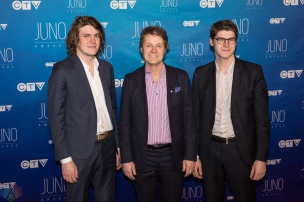 Jim Cuddy of Blue Rodeo attends the 2017 JUNO Awards at the Canadian Tire Centre in Ottawa on April 2, 2017. (Photo: Brendan Albert/Aesthetic Magazine)