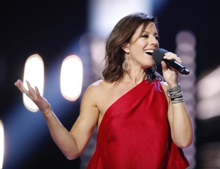 Canadian Music Hall of Fame inductee Sarah McLachlan appears at the 2017 JUNO Awards at the Canadian Tire Centre in Ottawa on April 2, 2017. (Photo: CARAS)