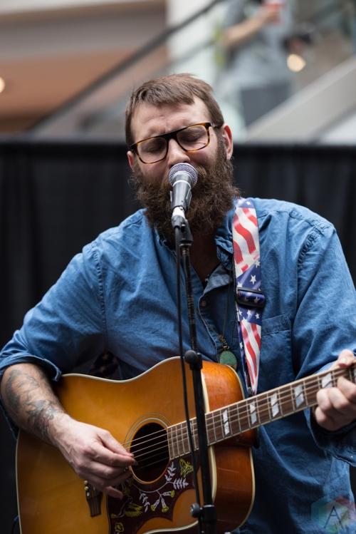 The Strumbellas perform at JUNO Fan Fare at the Rideau Centre in Ottawa on April 1, 2017. (Photo: Brendan Albert/Aesthetic Magazine)