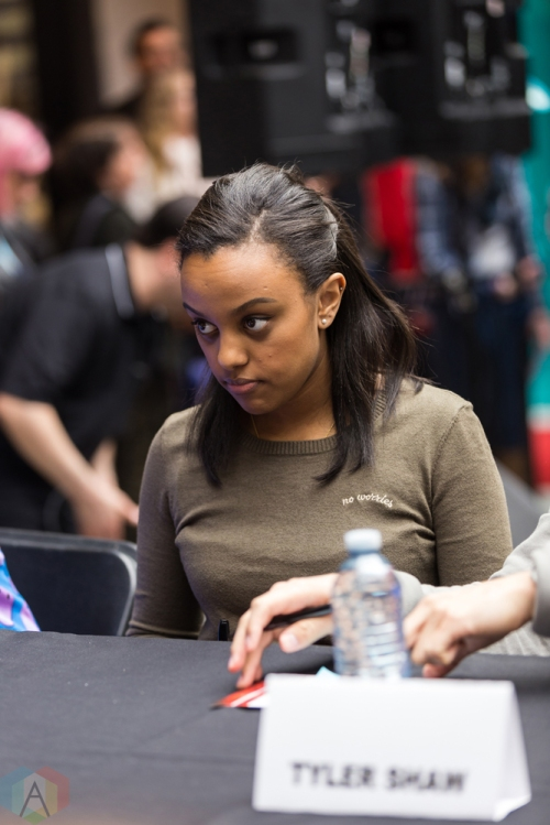 Ruth B appears at JUNO Fan Fare at the Rideau Centre in Ottawa on April 1, 2017. (Photo: Brendan Albert/Aesthetic Magazine)
