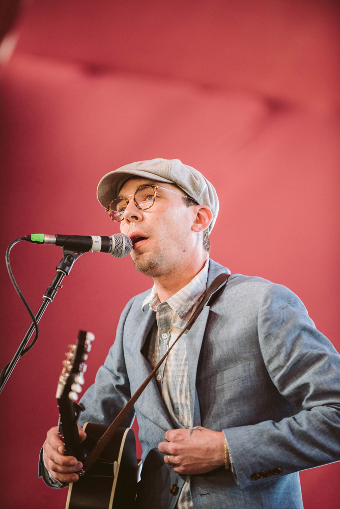 Justin Townes Earle Performs At Stagecoach Festival At The
