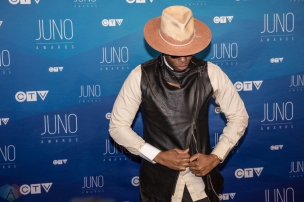 Kardinal Offishall attends the 2017 JUNO Awards at the Canadian Tire Centre in Ottawa on April 2, 2017. (Photo: Brendan Albert/Aesthetic Magazine)
