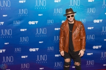Karl Wolf attends the 2017 JUNO Awards at the Canadian Tire Centre in Ottawa on April 2, 2017. (Photo: Brendan Albert/Aesthetic Magazine)
