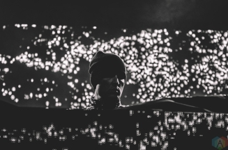 Kaskade performs at Snowbombing Canada at Sun Peaks Resort in Sun Peaks, British Columbia on April 8, 2017. (Photo: Timothy Nguyen/Aesthetic Magazine)