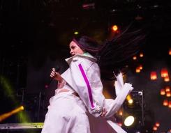 Kehlani performs at the Coachella Music Festival in Indio, California on April 16, 2017. (Photo: Greg Noire)