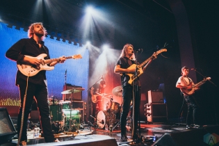 King Gizzard & the Lizard Wizard performs at the Danforth Music Hall in Toronto on April 5, 2017. (Photo: Janine Van Oostrom/Aesthetic Magazine)