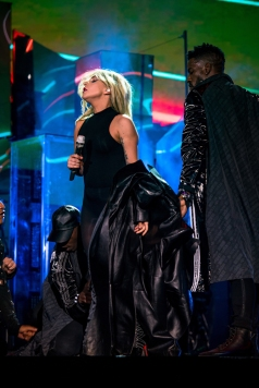 Lady Gaga performs at the Coachella Music Festival in Indio, California on April 15, 2017. (Photo: Charles Reagan)
