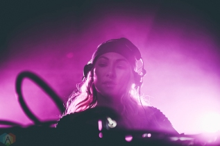 Lauren Lane performs at Snowbombing Canada at Sun Peaks Resort in Sun Peaks, British Columbia on April 6, 2017. (Photo: Timothy Nguyen/Aesthetic Magazine)