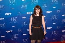 Lisa Leblanc attends the 2017 JUNO Awards at the Canadian Tire Centre in Ottawa on April 2, 2017. (Photo: Brendan Albert/Aesthetic Magazine)