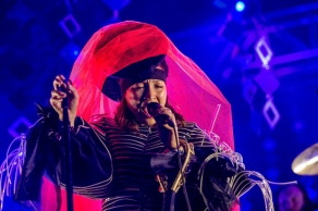 Little Dragon performs at the Coachella Music Festival in Indio, California on April 14, 2017. (Photo: Erik Voake)