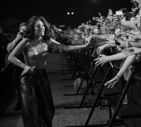 Lorde performs at the Coachella Music Festival in Indio, California on April 16, 2017. (Photo: Roger Ho)