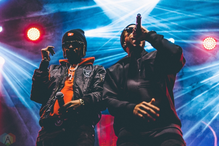 Ludacris performs at Snowbombing Canada at Sun Peaks Resort in Sun Peaks, British Columbia on April 9, 2017. (Photo: Timothy Nguyen/Aesthetic Magazine)