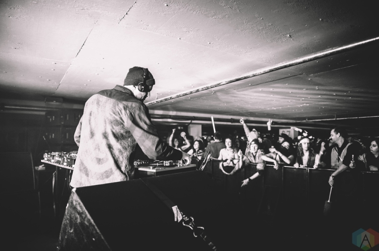 Mat The Alien performs at Snowbombing Canada at Sun Peaks Resort in Sun Peaks, British Columbia on April 9, 2017. (Photo: Timothy Nguyen/Aesthetic Magazine)