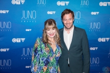 Matthew and Jill Barber attend the 2017 JUNO Awards at the Canadian Tire Centre in Ottawa on April 2, 2017. (Photo: Brendan Albert/Aesthetic Magazine)