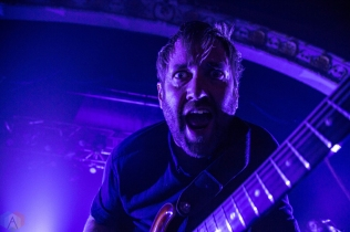 Minus The Bear performs at the Opera House in Toronto on March 31, 2017. (Photo: Sarah McNeil/Aesthetic Magazine)
