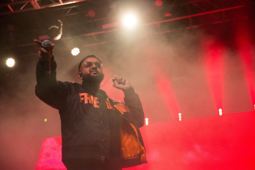 NAV performs at the Coachella Music Festival in Indio, California on April 15, 2017. (Photo: Greg Noire)