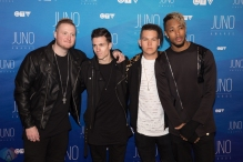 Neon Dreams attend the 2017 JUNO Awards at the Canadian Tire Centre in Ottawa on April 2, 2017