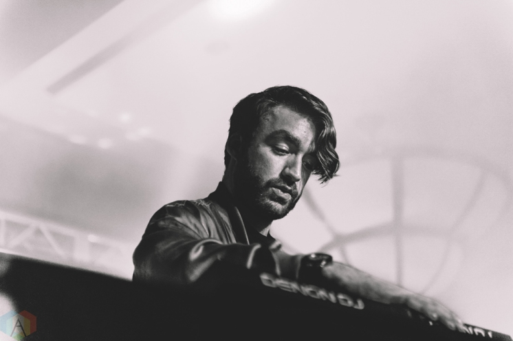 Oliver Heldens performs at Snowbombing Canada at Sun Peaks Resort in Sun Peaks, British Columbia on April 7, 2017. (Photo: Timothy Nguyen/Aesthetic Magazine)