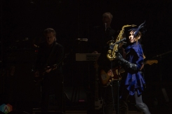 PJ Harvey performs at Massey Hall in Toronto on April 13, 2017. (Photo: Lisa Mark/Aesthetic Magazine)