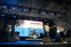 Preoccupations performs at the Coachella Music Festival in Indio, California on April 16, 2017. (Photo: Roger Ho)