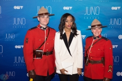 Ruth B attends the 2017 JUNO Awards at the Canadian Tire Centre in Ottawa on April 2, 2017. (Photo: Brendan Albert/Aesthetic Magazine)