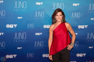 Sarah McLachlan attends the 2017 JUNO Awards at the Canadian Tire Centre in Ottawa on April 2, 2017. (Photo: Brendan Albert/Aesthetic Magazine)