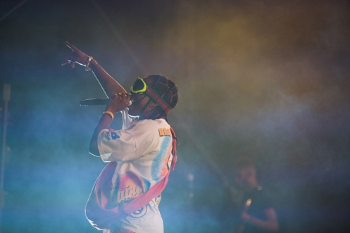 Schoolboy Q performs at the Coachella Music Festival in Indio, California on April 15, 2017. (Photo: Greg Noire)