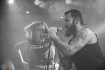Senses Fail performs at Neumos in Seattle on April 3, 2017. (Photo: Daniel Hager/Aesthetic Magazine)