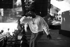 Skepta performs at the Coachella Music Festival in Indio, California on April 16, 2017. (Photo: Julian Bajsel)
