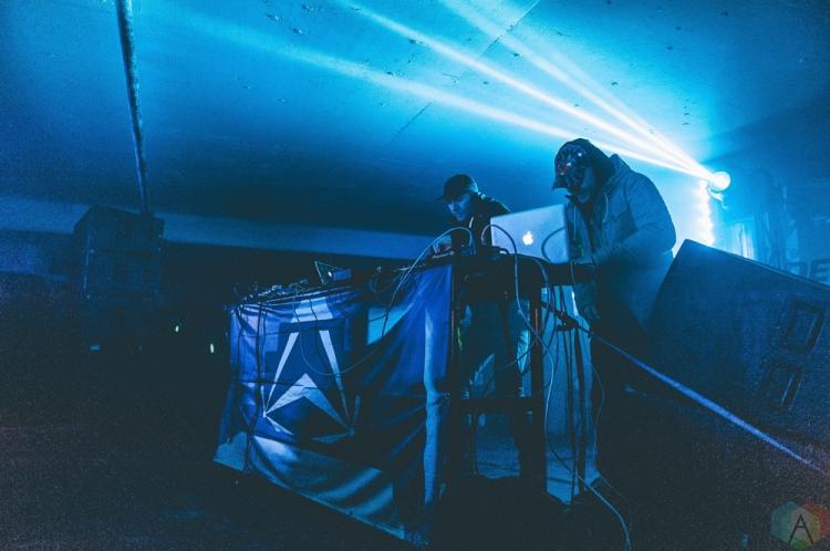 Smalltown DJs performs at Snowbombing Canada at Sun Peaks Resort in Sun Peaks, British Columbia on April 9, 2017. (Photo: Timothy Nguyen/Aesthetic Magazine)