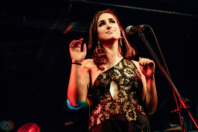 Stacey performs at the Rivoli in Toronto on March 31, 2017. (Photo: Nicole De Khors/Aesthetic Magazine)