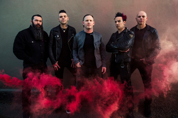 Stone Sour. (Photo: Travis Shinn)