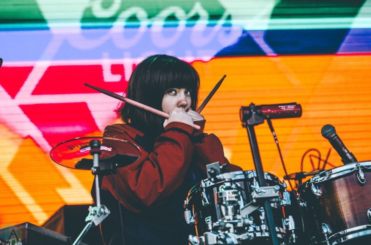 Tennyson performs at Snowbombing Canada at Sun Peaks Resort in Sun Peaks, British Columbia on April 9, 2017. (Photo: Timothy Nguyen/Aesthetic Magazine)