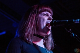The Balconies perform at Adelaide Hall in Toronto on April 19, 2017. (Photo: Sarah McNeil/Aesthetic Magazine)