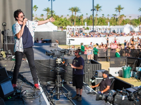 The Head And The Heart performs at the Coachella Music Festival in Indio, California on April 15, 2017. (Photo: Erik Voake)