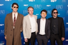 The Zolas attend the 2017 JUNO Awards at the Canadian Tire Centre in Ottawa on April 2, 2017. (Photo: Brendan Albert/Aesthetic Magazine)
