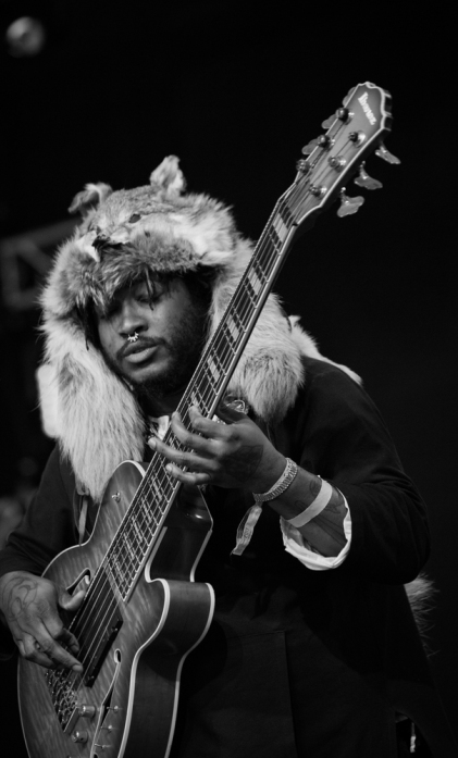 Thundercat performs at the Coachella Music Festival in Indio, California on April 15, 2017. (Photo: Greg Noire)