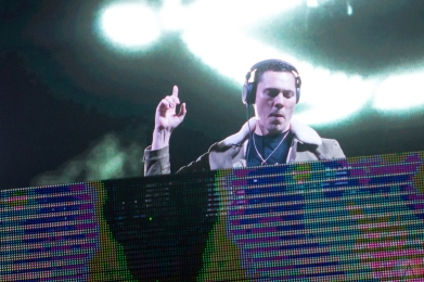 Tiesto performs at the Phoenix Lights Festival at the Rawhide Event Center in Phoenix, AZ on April 8, 2017. (Photo: Meghan Lee/Aesthetic Magazine)
