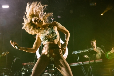 Tove Lo performs at the Coachella Music Festival in Indio, California on April 16, 2017. (Photo: Roger Ho)